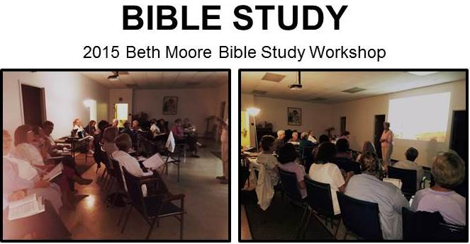 Beth Moore collage